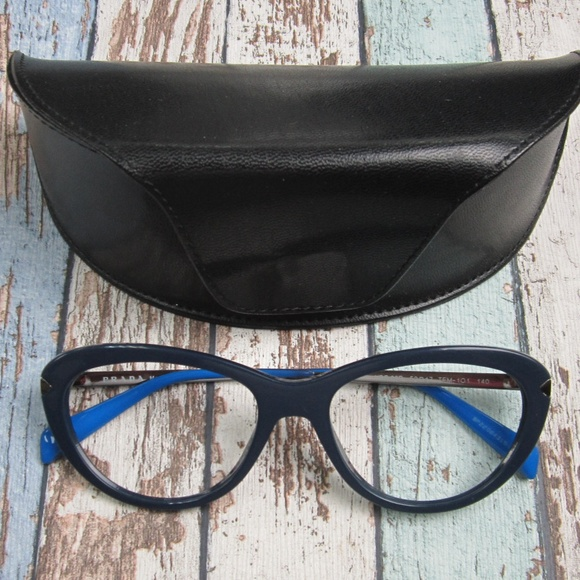 7fcf00d92870 Prada VPR 08R TFM-1O1 Eyeglasses Italy OLP314. M 5c4b6bd6819e90fee3fb48d8